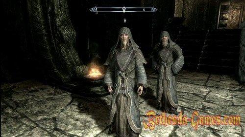 Skyrim Greybeards