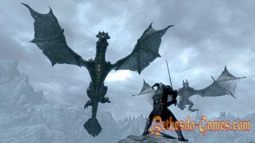 Dragons of Skyrim