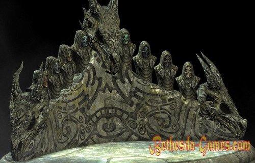 Skyim Dragon Priest Mask