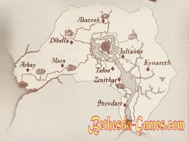 knights of the nine walkthrough map